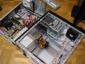AC400-M02B-P400W_PCケース交換作業_01
