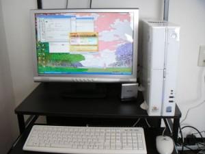 パソコン設置と無線LAN設定